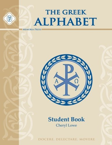 9781615380299: Greek Alphabet Book, Student Book