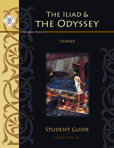 9781615380787: Homer's Iliad and Odyssey, Student Guide