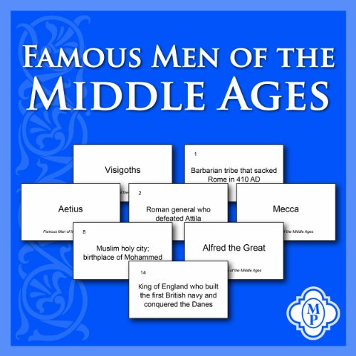 9781615381661: Famous Men of the Middle Ages Flashcards