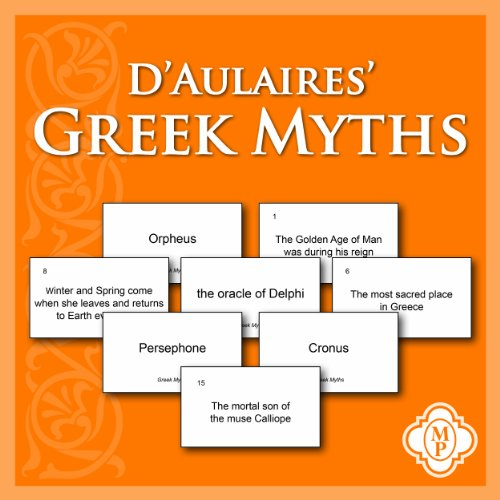 9781615381685: D'Aulaires' Greek Myths Flashcards