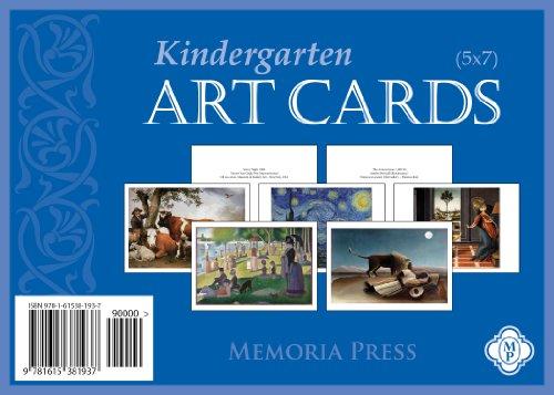 9781615381937: Kindergarten Art Cards