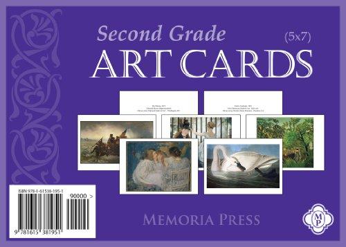 9781615381951: Second Grade Art Cards