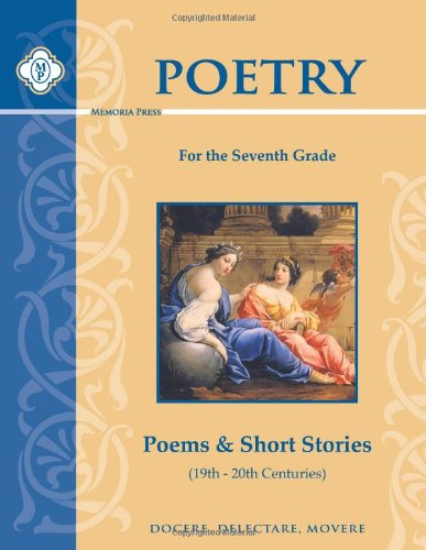 9781615382026: Poetry for the Seventh Grade: Poems & Short Stories (19th-20th Centuries)
