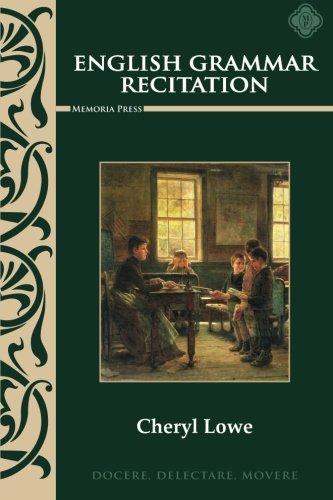 9781615382187: English Grammar Recitation