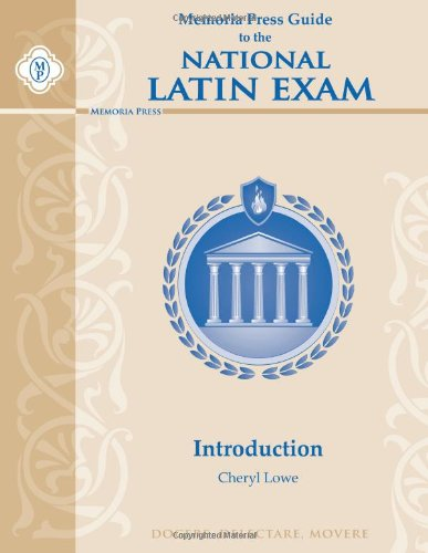 9781615382255: Memoria Press Guide to the National Latin Exam, Introduction