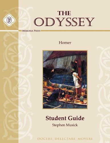 9781615383436: The Odyssey, Student Guide