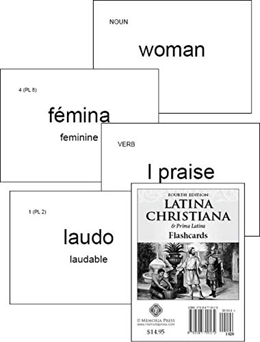 9781615385133: Latina Christiana I Flashcards, Second Edition
