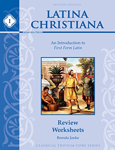 9781615385164: Latina Christiana I Review Worksheets, Second Edition