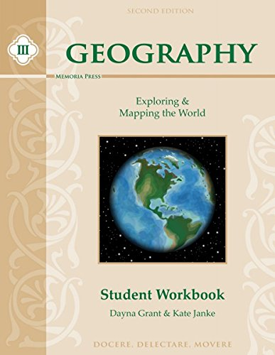 9781615385485: Geography III: Exploring and Mapping the World Workbook, Second Edition