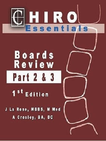 9781615396061: Chiro Essentials Boards Review Parts 2 and 3