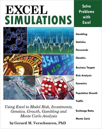 9781615470228: Excel Simulations