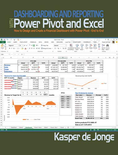 9781615470273: Dashboarding and Reporting with PowerPivot and Excel: How to Design and Create a Financial Dashboard with PowerPivot - End to End