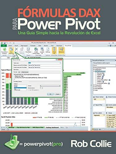 9781615470297: Fórmulas DAX para PowerPivot: Una guía simple hacia la revolución de Excel (Spanish Edition)