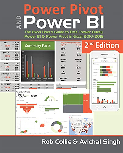 9781615470396: Power Pivot and Power Bi: The Excel User's Guide to Dax, Power Query, Power Bi & Power Pivot in Excel 2010-2016
