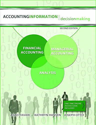 9781615497966: Accounting Information for Decision Making 2nd Edition