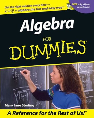 9781615521371: Algebra For Dummies (For Dummies (Computer/Tech))