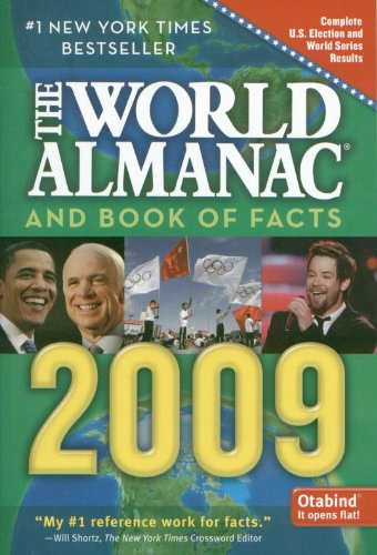 9781615569762: The World Almanac and Book of Facts 2009