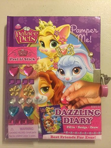 9781615626212: Palace Pets Pamper Me! Dazzling Diary