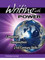 9781615636266: Writing with Power, language Composition 21st Century Skills Grade 7