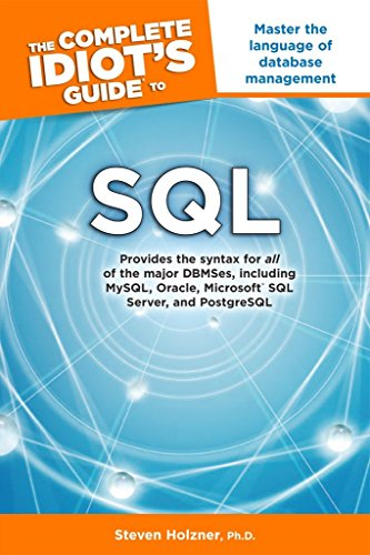 9781615641093: The Complete Idiot's Guide to SQL