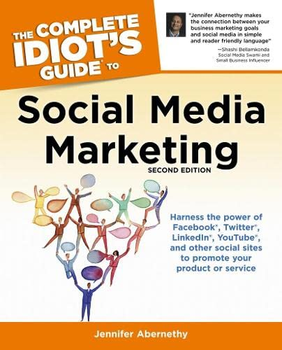 9781615641598: The Complete Idiot's Guide to Social Media Marketing, Second Edition (Complete Idiot's Guides (Lifestyle Paperback))