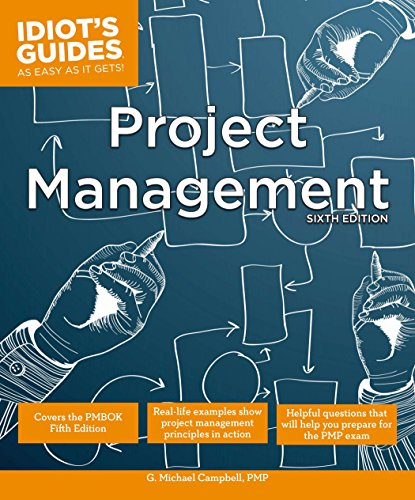 9781615644421: Project Management, Sixth Edition (Idiot's Guides)
