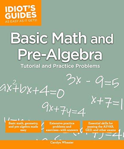 Basic Math and Pre-Algebra (Paperback): Carolyn Wheater