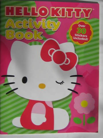 9781615680115: Hello Kitty Activity Book: over 30 Stickers Included! SIL-34055