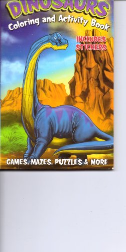 9781615680979: Dinosaurs Coloring & Activity Book