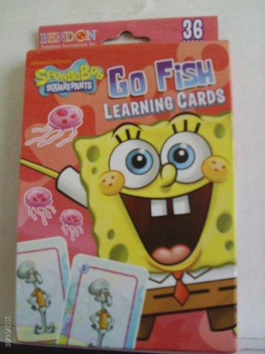 9781615681822: SpongeBob SquarePants Go Fish Learning Cards