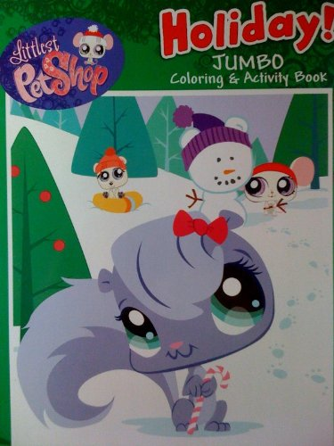 9781615682768: Littlest Pet Shop Holiday! Jumbo Coloring & Activity Book