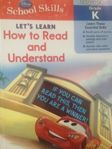 Disney School Skills Let's Learn How to Read and Understand
