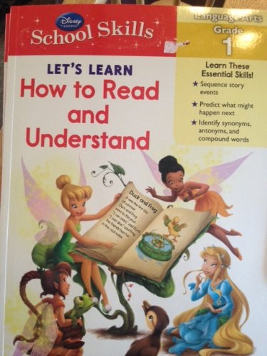 9781615685240: Disney School Skills - Let's Learn How to Read and Understand (Language Arts Grade 1)