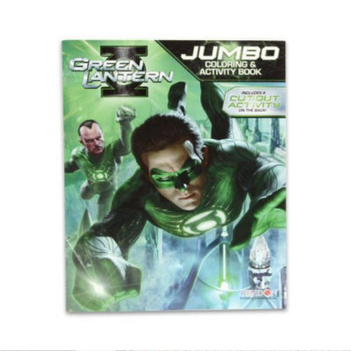9781615688012: Green Lantern Coloring & Activity Book - 96pgs