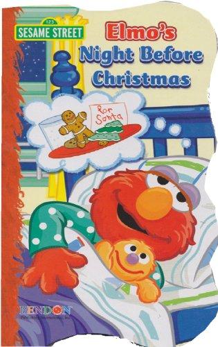 9781615688753: Sesame Street Elmo's Night Before Christmas
