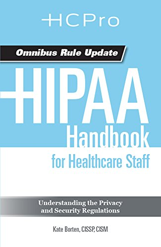 9781615692286: HIPAA Handbook for Healthcare Staff (Sold in packs of 20)