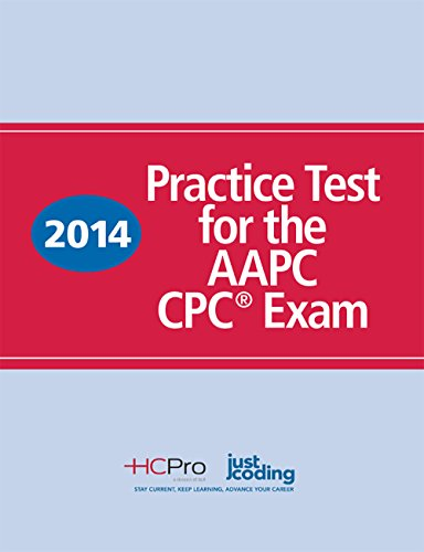 9781615693511: 2014 Practice Test for the AAPC CPC® Exam