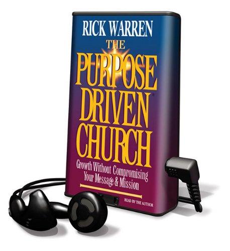 9781615741434: Purpose Driven Church (Playaway Adult Nonfiction)