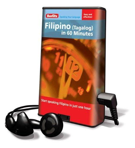 9781615749287: Berlitz Filipino (Tagalog) in 60 Minutes (Playaway Adult Nonfiction)