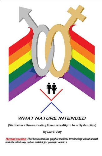 9781615826544: What Nature Intended: (Six Factors Demonstrating Homosexuality to be a Dysfunction)