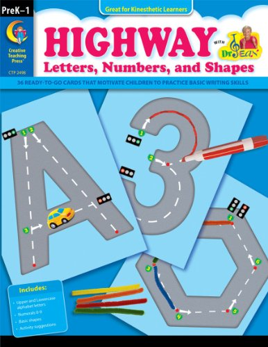 9781616010362: Highway Letters, Numbers and Shapes