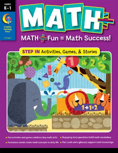 9781616013394: MATH PLUS: Step In, Grade K1