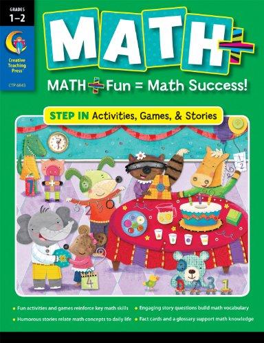 9781616013417: MATH PLUS: Step In, Grade 12