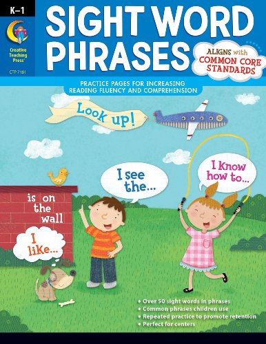 Sight Word Phrases (9781616017163) by Rozanne Lanczak Williams