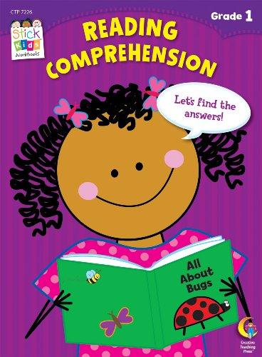 9781616017965: Reading Comprehension Stick Kids Workbook, Grade 1 (Stick Kids Workbooks)