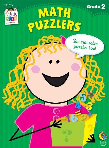 9781616018023: Math Puzzlers Stick Kids Workbook, Grade 2 (Stick Kids Workbooks)