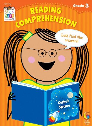 9781616018061: Reading Comprehension Stick Kids Workbook, Grade 3 (Stick Kids Workbooks)