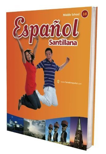 9781616050795: Espanol Santillana, Middle School 1B, Teacher's Edition