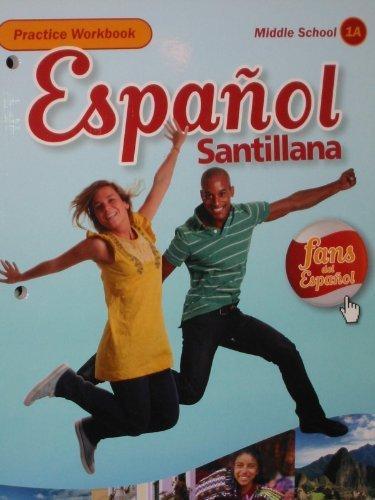 9781616050801: Espa�ol Santillana Practice Workbook Level 1A