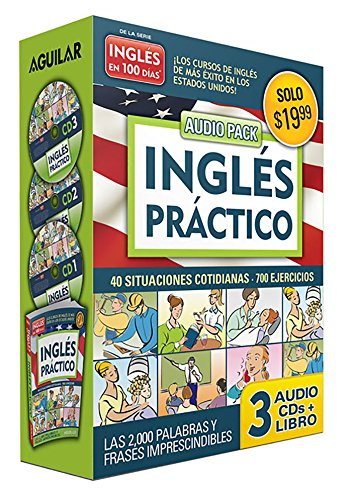 Ingles Practico (Book + 3 CD Pack) (Ingles En 100 Dias): Aguilar; Aguilar, Aguilar
